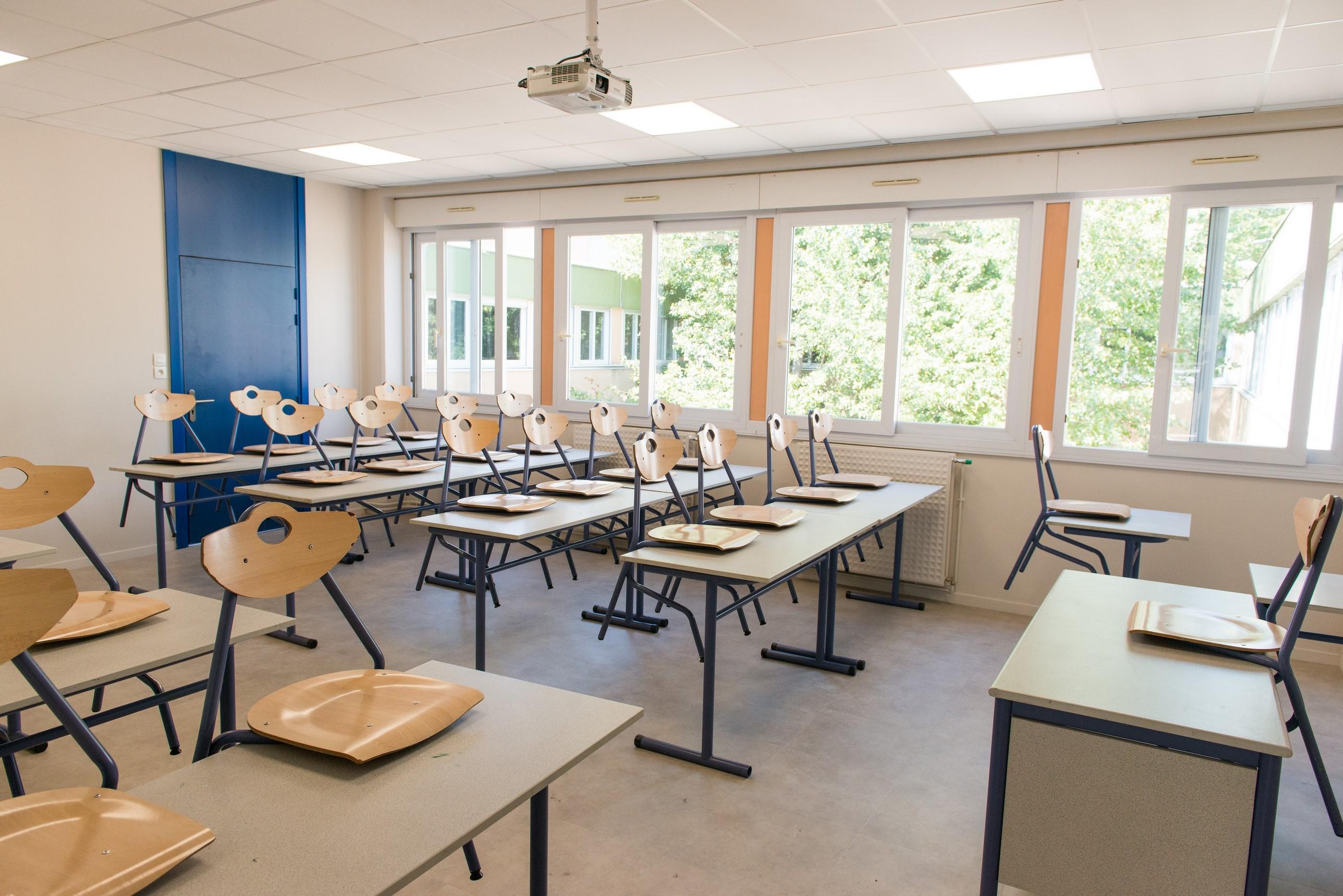 Collège Lucie Aubrac Géants - Travaux au 24 août