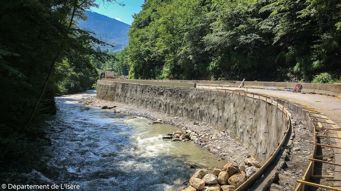 Gorges du Bréda - Fin de la phase 2