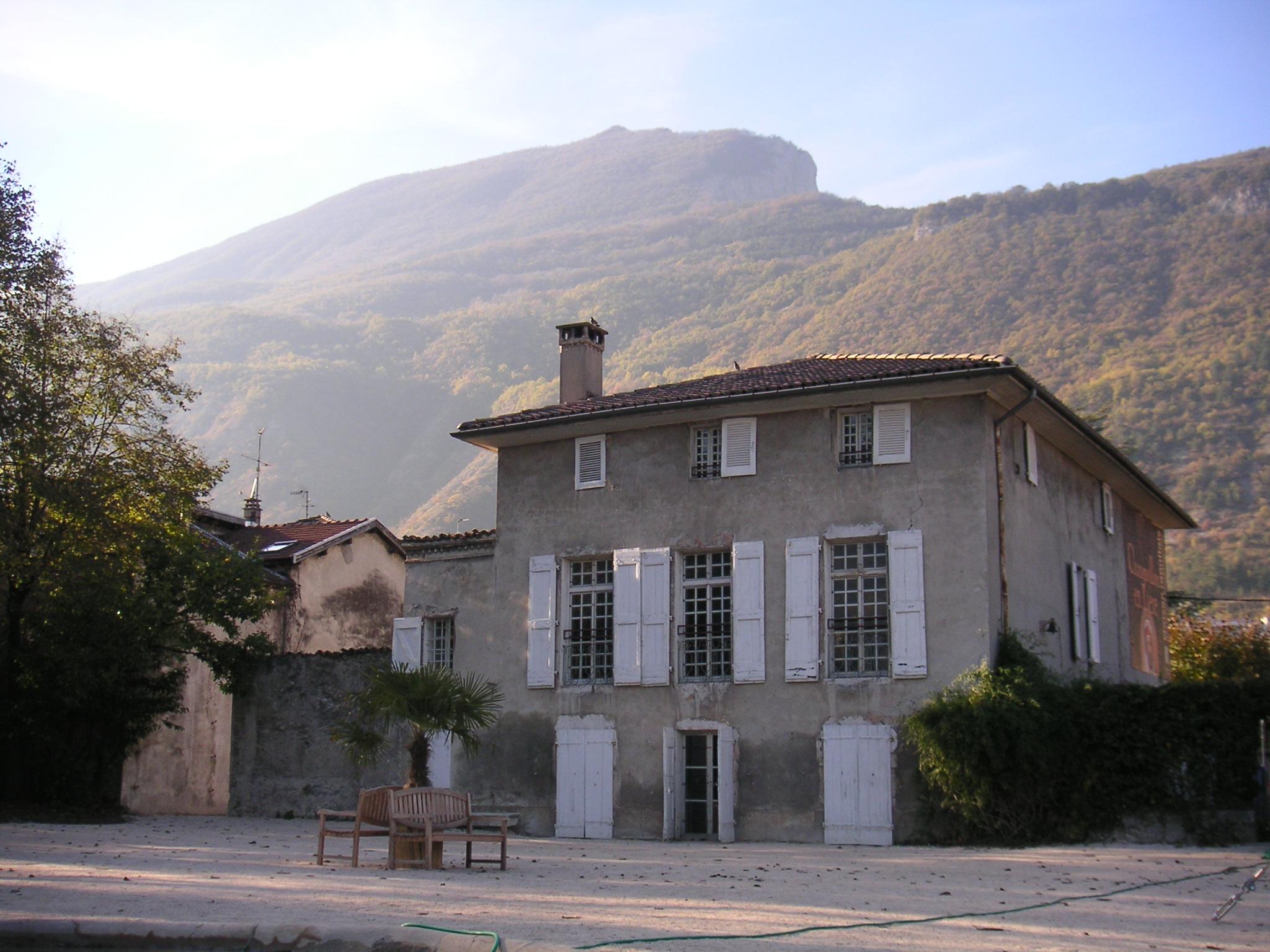 La maison des frères Champollion au pied du Vercors