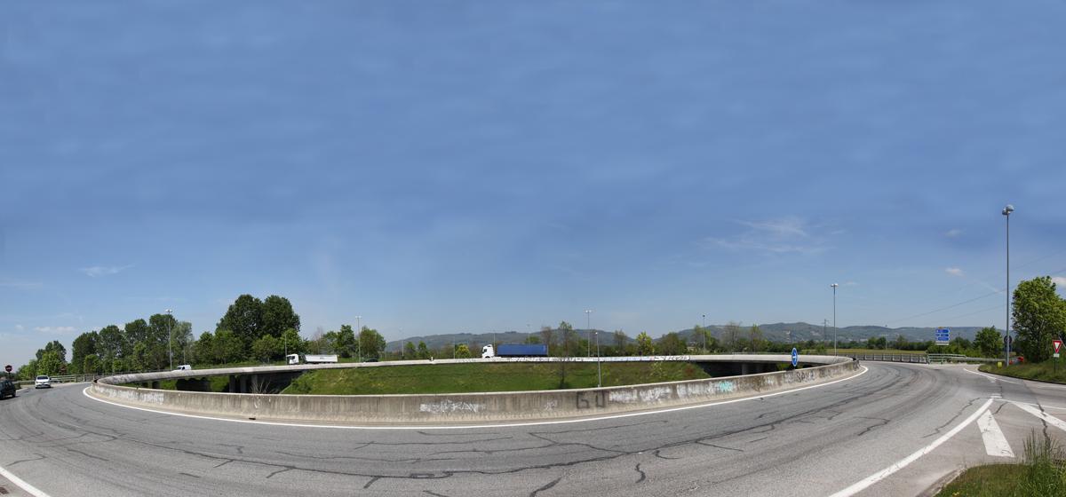 RD1085 Carrefour de l'Europe à Izeaux