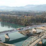 Pont de Saint Quentin sur Isère - Fin de l'alternat pour 2017
