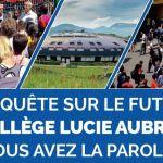 Collège Lucie Aubrac  - Questionnaire