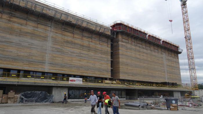 Photo du futur bâtiment des Archives départementales de l'Isère