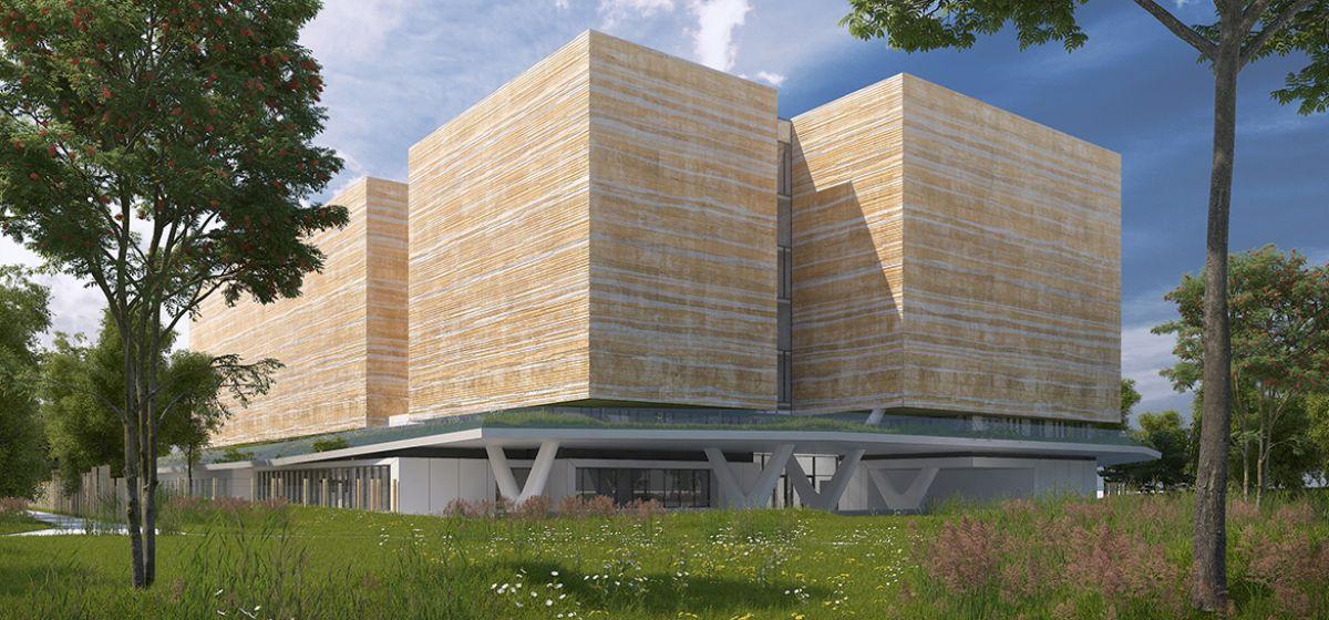 Nouveau bâtiment des archives départementales en 2020