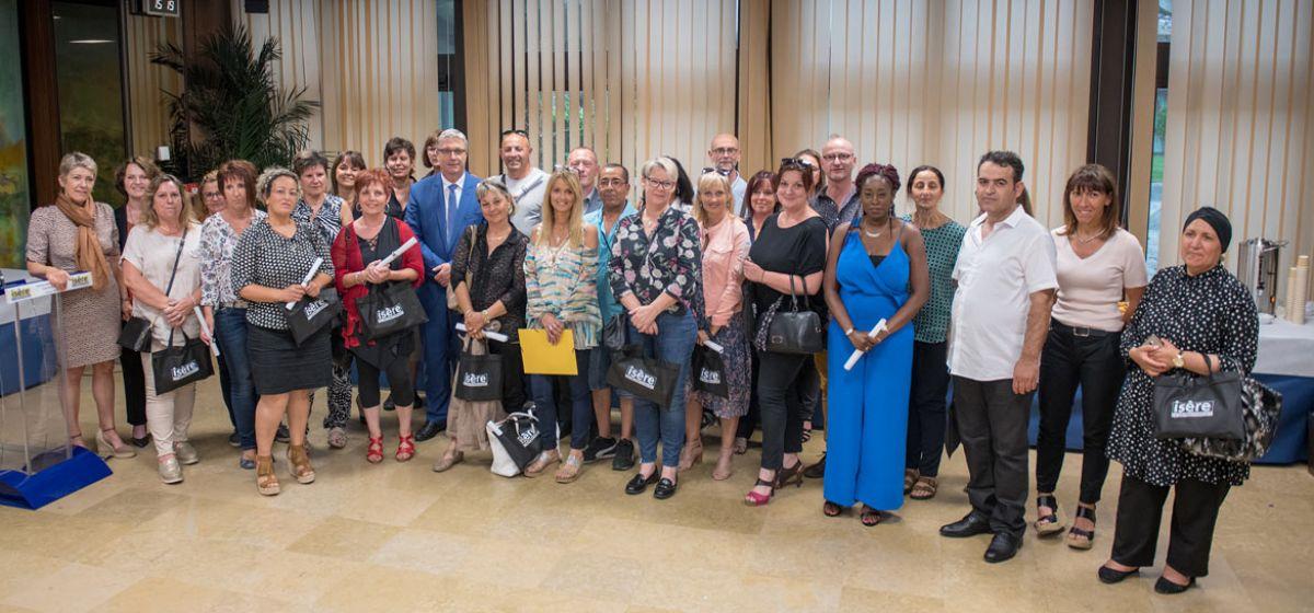 assistants familiaux cérémonie de remise de diplômes - 12 juin 2018