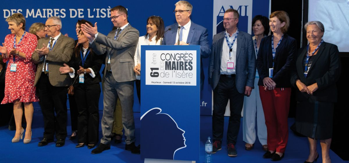 Congrès des maires 2018 - Photo Droits réservés
