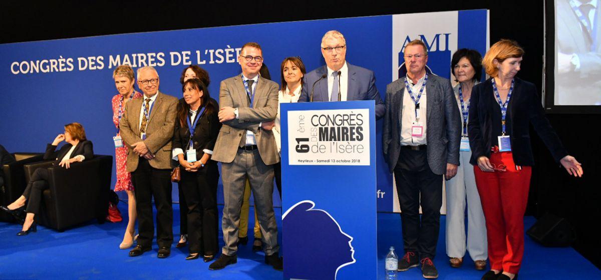 61e Congrès des maires de l'Isère