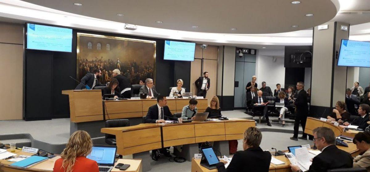 Assemblé départementale - Octobre 2018