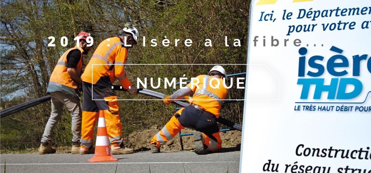 L'Isère a la fibre numérique