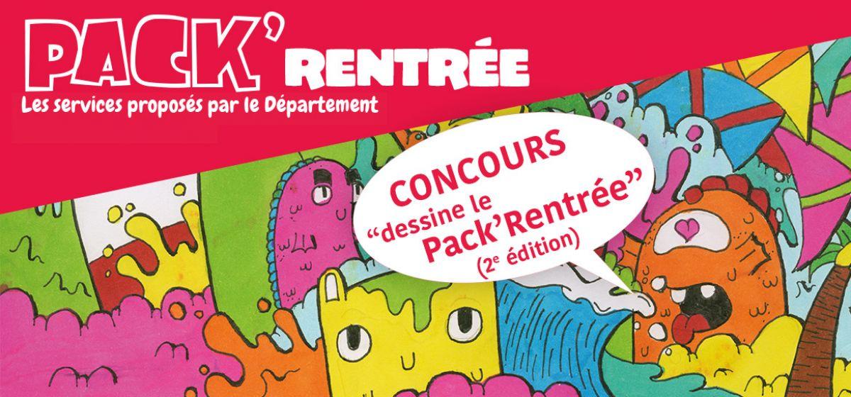 Concours Pack'Rentrée 2018 : Dessine le Pack'Rentrée