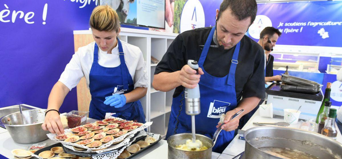 15 chefs isérois cuisinent pour vous à la foire de Beaucroissant les 14, 15 et 16 septembre 2018