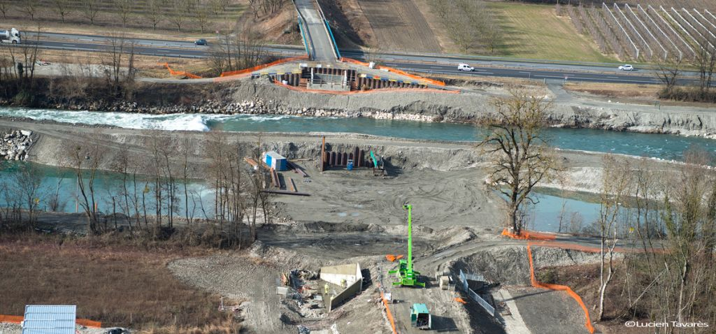 Pont de la Buissière - Travaux février 2019