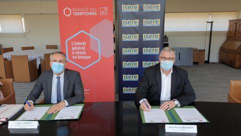 Signatre de la convention de partenariat Petites villes de demain