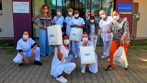 panier Ishere distribution crise sanitaire covid coronavirus