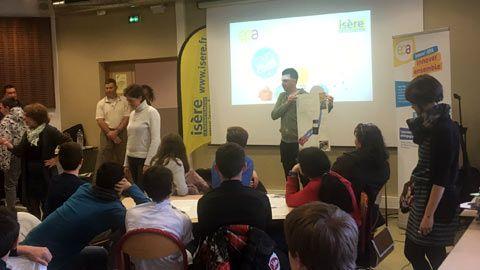 Des collégiens participent au 1er Challenge Innov' EPA