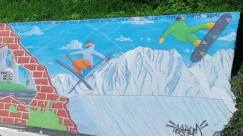 Fresque - Graff et ouvrages d'art