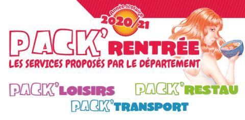 pack rentrée 2020-2021