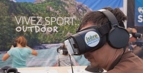 Stand Sport santé - réalité virtuelle
