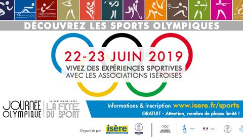 journees olympique 2019 Isère