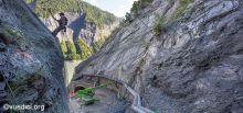 Travaux du tunnel du Chambon - Travaux du toorent du Lavoir