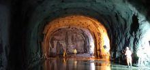 Travaux du tunnel du Chambon - Inspection du tunnel