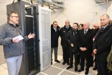 Lancement de la commercialisation des premières prises fibre à Heyrieux en Isère  - 25012019