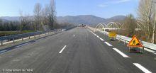 Pont de Saint Quentin sur Isère-Circulation sur le nouveau pont