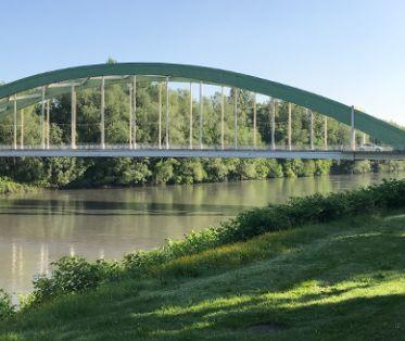 Le pont de Saint Gervais - Vue générale
