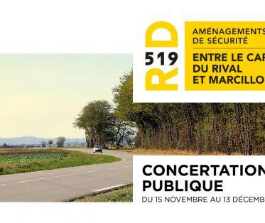 RD519 - Concertation publique
